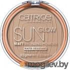 Пудра компактная Catrice Sun Glow матирующая с эффектом загара тон 030 (9.5г)