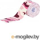 Кинезио тейп Tmax Pattern Pink / 423426 (розовый/красный/белый)