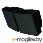 Крепление ECLER [MP106AMB2BK] настенное для 2 колонок AMBIT 106, цвет черный