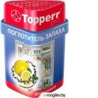 Topperr 3116 Поглотитель запаха для холодильника (лимон/уголь)