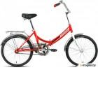 Велосипед FORWARD ARSENAL 20 1.0 (20 1 ск. рост 14 скл.) 2018-2019 (красный, RBKW9YF01004)