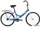 Велосипед ALTAIR CITY 24 (24 1 ск. рост 16 скл.) 2018-2019 (синий, RBKN9YF41002)