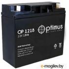 Аккумулятор для ИБП Optimus OP 1218 (12В/18 А·ч)