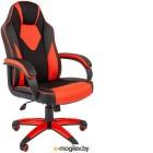 Кресло геймерское Chairman Game 17 (экопремиум, черный/красный)