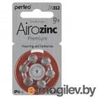 Perfeo ZA312/6BL Airozinc Premium (6 штук)