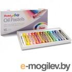 Пастель масляная Pentel Arts Oil Pastels 16 цветов PHN4-16