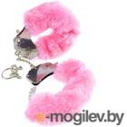 Наручники Pipedream Original Furry Cuffs / 16085 (с розовым мехом)