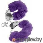 Наручники Pipedream Original Furry Cuffs / 17873 (с фиолетовым мехом)