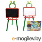 Мольберт детский Doloni 0137770/3 (оранжевый/зеленый)