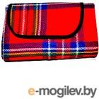 Туристический коврик No Brand EXM-019 (красный)