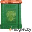 Почтовый ящик Цикл Премиум с орлом (зеленый)