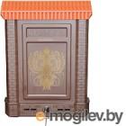 Почтовый ящик Цикл Премиум с орлом (коричневый)