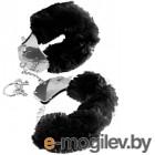 Наручники Pipedream Furry Love Cuffs / 16086 (с черным мехом)