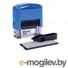 Печати и штампы Штамп самонаборный Trodat 4911P2F Blue