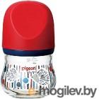 Бутылочка для кормления Pigeon Перистальтик Плюс SofTouch. Ежик / 373 (80мл)