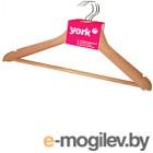 Набор вешалок-плечиков York 3шт (деревянный)