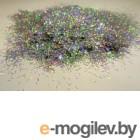 Блестки для жидких обоев Bioplast Люрекс SM49 (10г, серебристый)