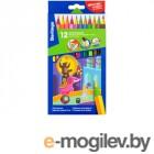 Карандаши цветные Berlingo Цирк 12 цветов CP_04812