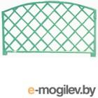 Забор декоративный Gardenplast Romanika (зеленый)