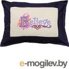 Подушка декоративная MATEX Believe / 00-952 (сливовый)