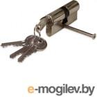 Цилиндровый механизм замка Vagner 60 30/30 длинный ключ (хром)