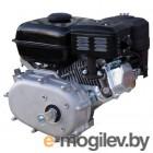 Двигатель LIFAN 168F-2R  бензиновый 6.5лс горизонтальный вал 20мм редуктор/сцепление