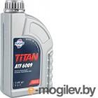 Жидкость гидравлическая Fuchs Titan ATF 6009 / 601376566 (1л, желто-зеленая)