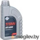 Жидкость гидравлическая Fuchs Titan ATF 6008 / 601376603 (1л, жёлто-зелёная)