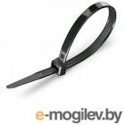 Стяжка для кабеля Fortisflex КСС 50286 (100шт, черный)