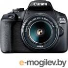Зеркальный фотоаппарат Canon EOS 2000D Kit EF-S 18-55mm III / 2728C002AA