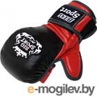 Перчатки для рукопашного боя BigSport D143B (M, черный)