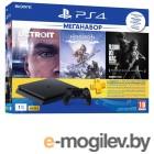 Sony PlayStation 4 1Tb + HZD + Detroit + TLoUS + PS 3 месяца