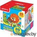 Развивающая игрушка Азбукварик Говорящий кубик. Любимые мультяшки / 4680019282022