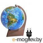Глобусный мир Земли для детей 210mm на треугольной подставке с подсветкой 10292
