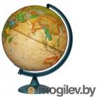 Глобусный мир Политический Ретро-Александр, рельефный 320mm 10198