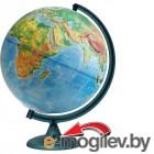 Глобусный мир Физический 320mm рельефный с подстветкой и батарейкой 16021