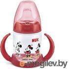 Бутылочка для кормления NUK First Choice Дисней Микки Маус / 10743827 (150мл, красный)