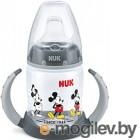 Бутылочка для кормления NUK First Choice Дисней Микки Маус / 10743831 (150мл, черный)