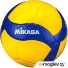 Мяч волейбольный Mikasa V300W (размер 5, желтый/синий)