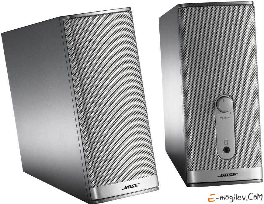 Bose Companion® 2 multimedia speaker system, Graphite