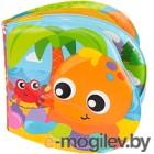 Игрушка для ванны Playgro Книжка. Веселые друзья / 0186965