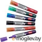 Набор маркеров для доски NOBO Liquid Ink 1901419 (6шт, ассорти)