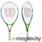Теннисная ракетка Wilson US OPEN 25 Junior 9-10 лет / WRT20330U (желтый/синий)