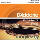 Струны для акустической гитары DAddario EZ900 10-50
