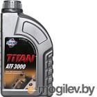 Жидкость гидравлическая Fuchs Titan ATF 3000 Dexron 2D / 601427169 (1л, красный)
