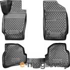 Комплект ковриков Novline NLC.3D.51.30.210K для Volkswagen Polo (4шт)