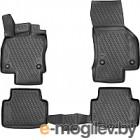 Комплект ковриков Novline CARVLK00001 для Volkswagen Passat B8 (4шт)