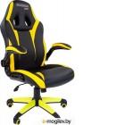 Кресло геймерское Chairman Game 15 (черный/желтый)