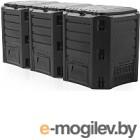 Компостер Prosperplast Module Compogreen 1200 (черный)
