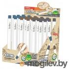 Механический ластик-карандаш Deli EH01800 Scribe RT белый картонный дисплей